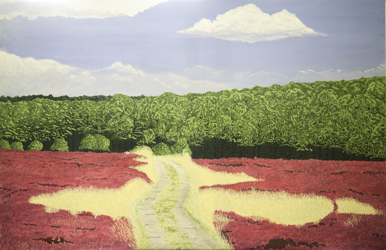 Zomer - acryl op canvas - 120 x 90 cm