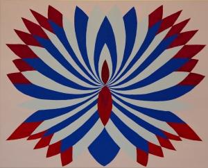 Fibonacci 1 - acryl op canvas - 60 x 40 cm