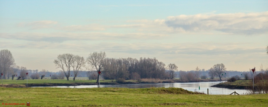 IJssel in januari, Ravenswaardne Gorssel