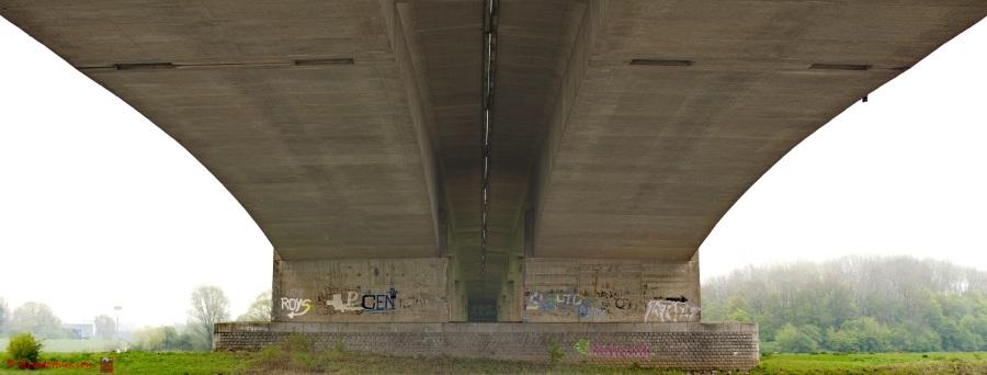 Overwelfd - onder de A1 bij Wilp