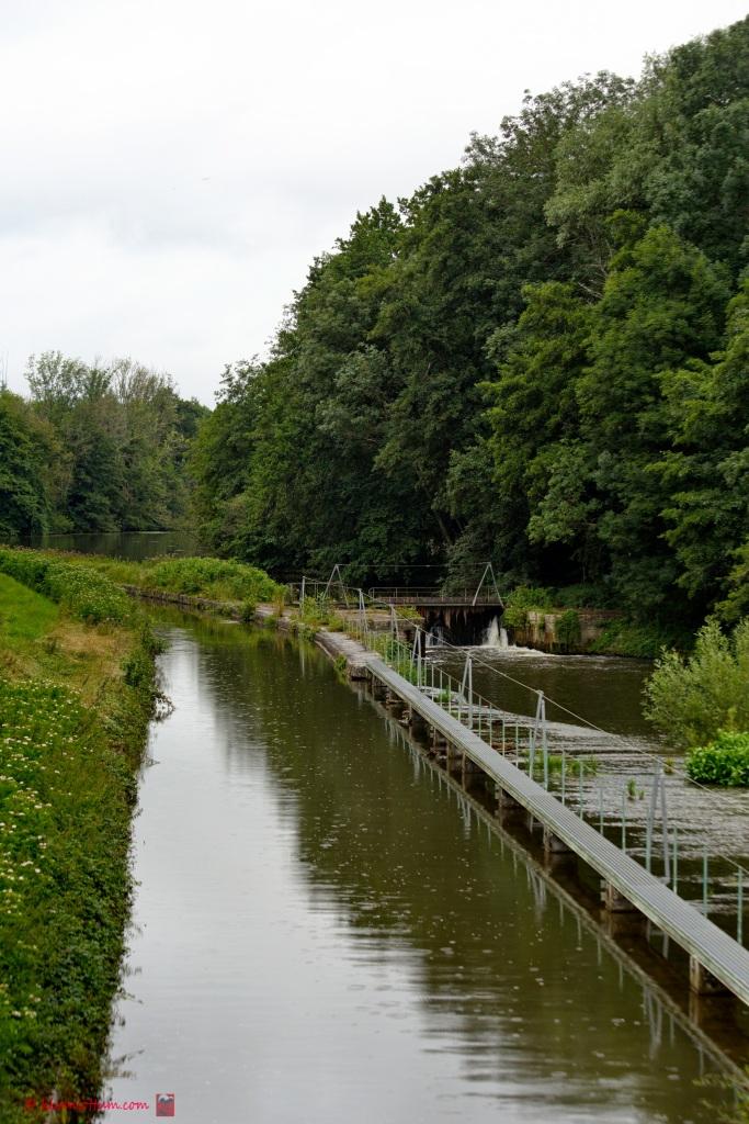 Overloop - Kanaal en Yonne bij elkaar, Lucy sur Yonne